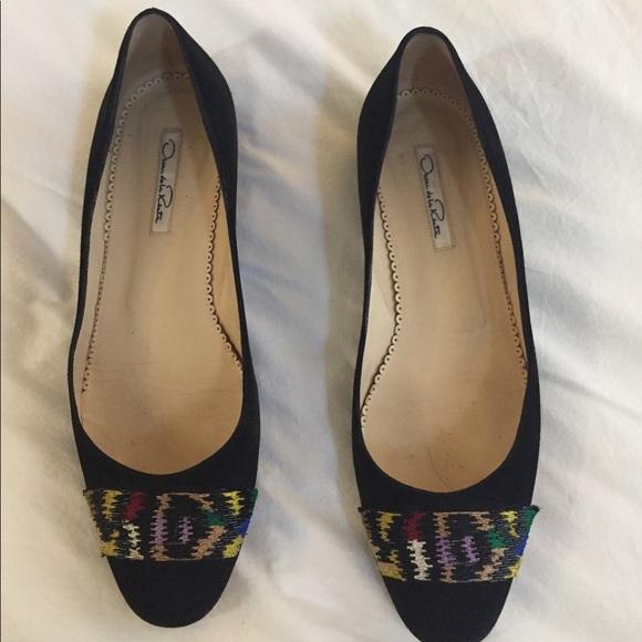Ballet Renta Oscar Shoes la de Flats Poshmark qpFx4F